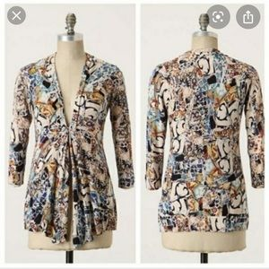 Anthropologie Sparrow Talavera Cardigan Sweater